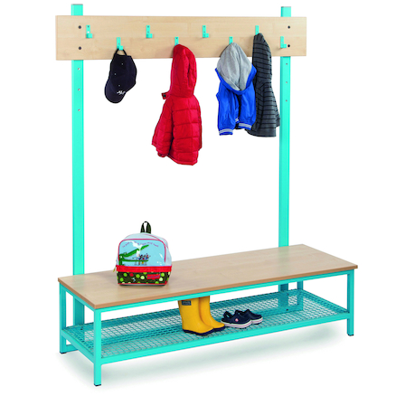 Bubblegum Cloakroom Benches  large