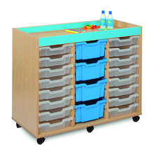 Bubblegum 20 Mixed Tray Storage Unit  medium