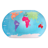 Map of the World Rug  small