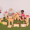 Small World Wooden Castle Set  small