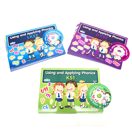 Using and Applying Phonics Activity Cards  large