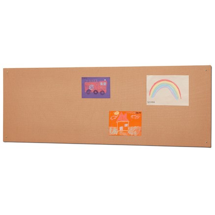 Millhouse Unframed Hessian Noticeboard Natural  large