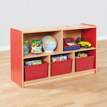 Copenhagen Five Compartment Bookcase  medium