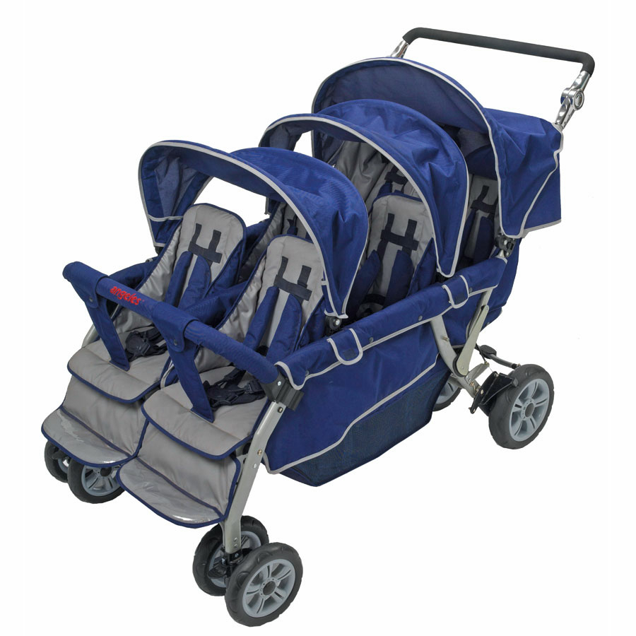 Buy Folding Commercial 6 Seater Stroller Tts