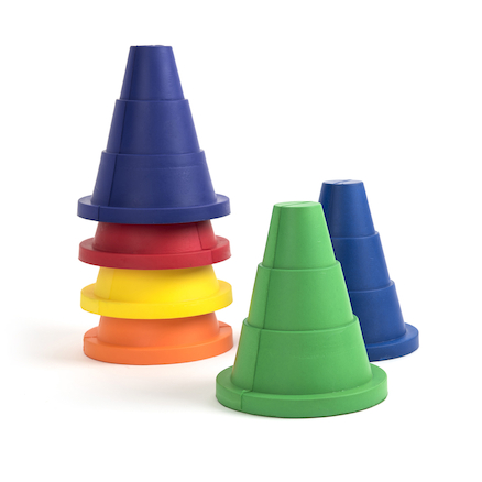 Super Safe Foam Cones 6pk  large