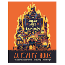 Great Fire of London Activity Book  medium