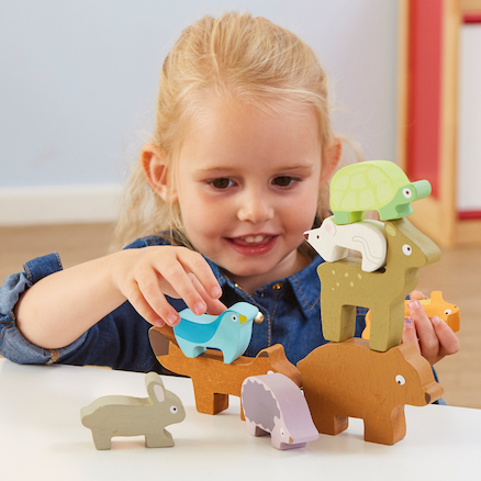 Wooden Stacking Animals  large