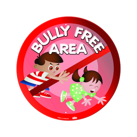 Bully Free Area Playground Sign  large