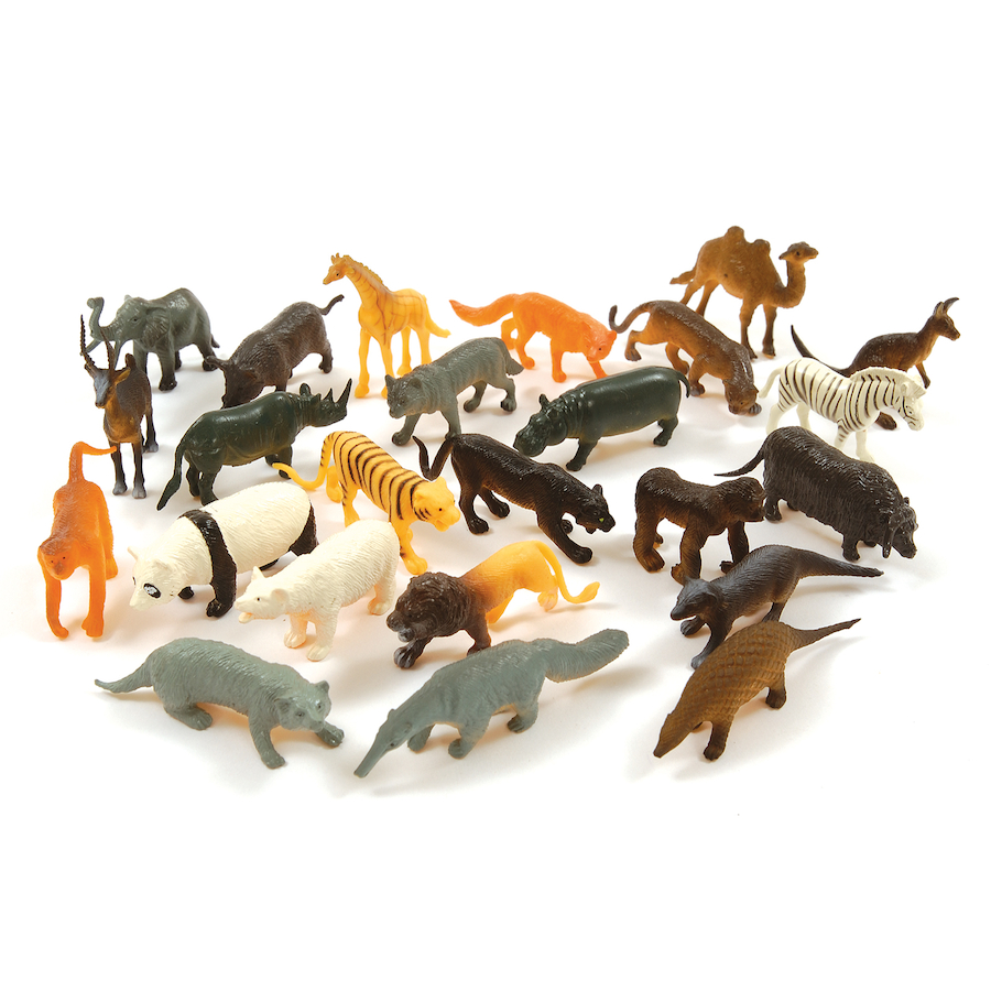 Buy Small World Tub Of Wild Animal Counters 144pcs Tts