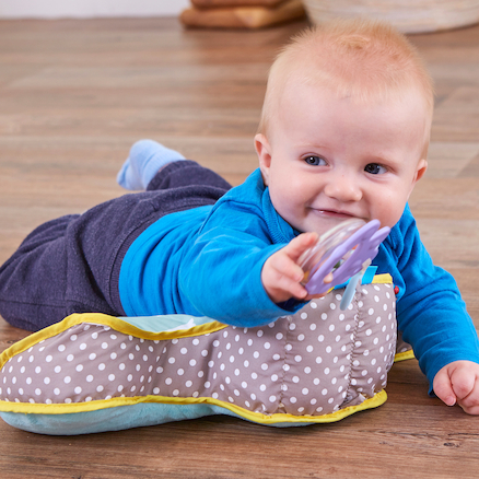 Tummy Time Soft Padded Support Pillow  large