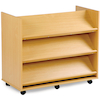 Double Sided Book Display Unit with Shelves  small
