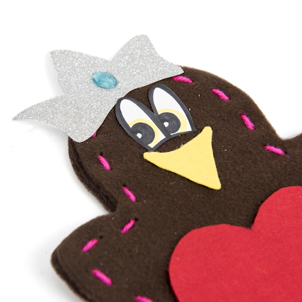 Tactile Robin Decorations  large
