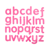 Silicon Tactile Tracing Letters Lowercase 26pk  small