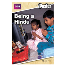 Hinduism Interactive CD and A2 Poster  medium