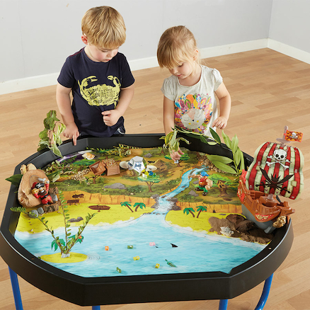 Active World Tuff Tray Treasure Island Mat  large
