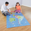 Americas Bee\-Bot Map 210 x 120cm  small