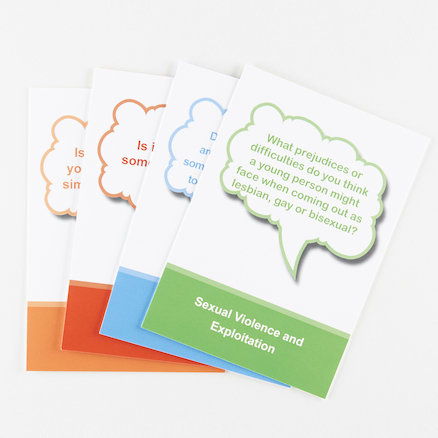 Sexual Violence and Exploitation Discussion Cards  large