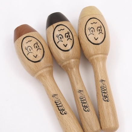 Beech Wood Maracas  large