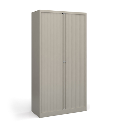 Contract Tambour Lockable Storage Cupboard  large