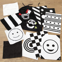 Baby Black and White Accessory Set  medium