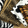 Assorted Printed Animal Skin Fabric 5pk  small