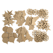 Ready to Decorate Christmas Tree Decorations 80pk  medium