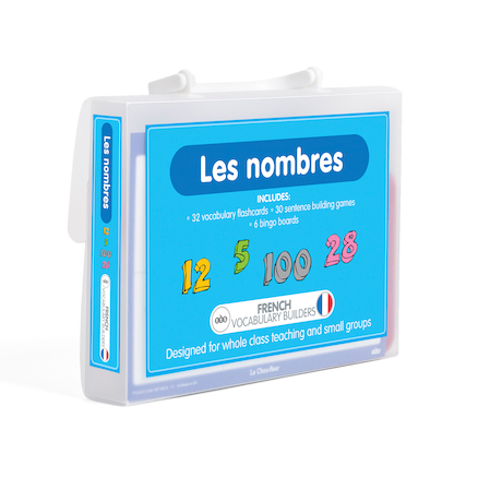 French Vocabulary Builders \- Numbers  large