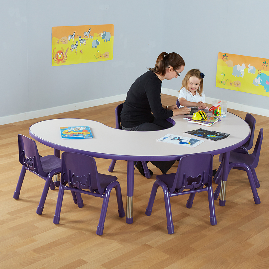 Classroom Furniture Uk : Buy valencia classroom furniture set purple tts