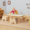Rectangular Toddler Low Table H380mm  small