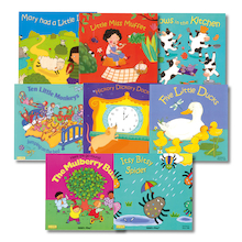Nursery Rhyme Book Pack 8pk  medium