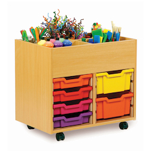 4 Bay Kinderbox with Trays  medium