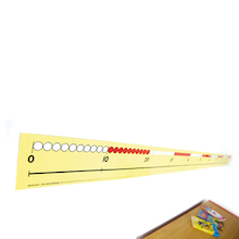Dry Wipe 0-100 Bead Number Lines  medium