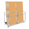 Gopak Contour Rectangular Tables and Large Trolley  small