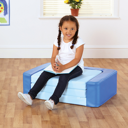 Sit and Sleep Foam Rest Bed and Seat  large