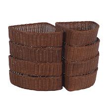Millhouse Corner Wicker Baskets  medium