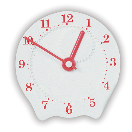 Geared Plastic Teaching Clock  large