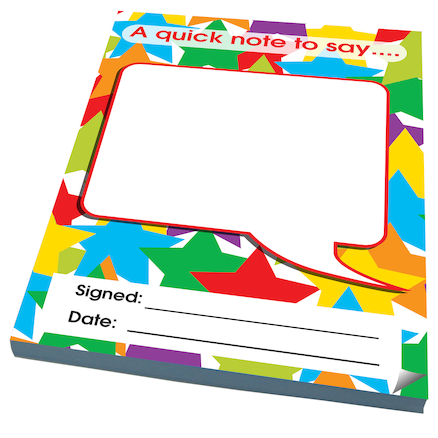 Assorted Reward Notepad Certificates 4pk  large