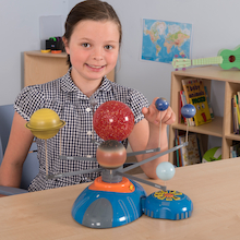 Motorised Model of the Solar System  medium