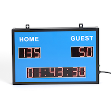 Wall-mountable Sports Scoreboard & Clock  medium