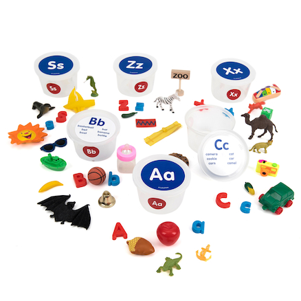 Alphabet Sounds Teaching Tubs  large