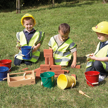 Realistic Builders Role Play Construction Kit  medium