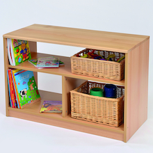 Room Scene Open Bookcase  medium