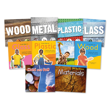 KS1 Exploring Materials Books 10pk  large
