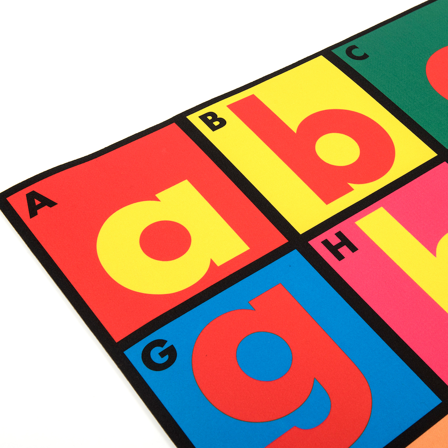 Small Abc Rug: Buy Alphabet Mat