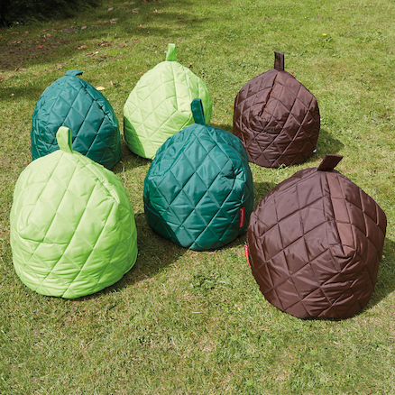 Toddler Quilted Beanbags 6pk  large