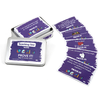 Prove It Activity Cards Year 5 100pk  large