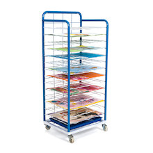 Fixed Shelf Mobile Drying Rack   medium