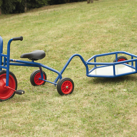 TTS Pedal Trike and Trailer  large