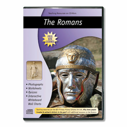 Romans Teaching Resources CD ROM  large