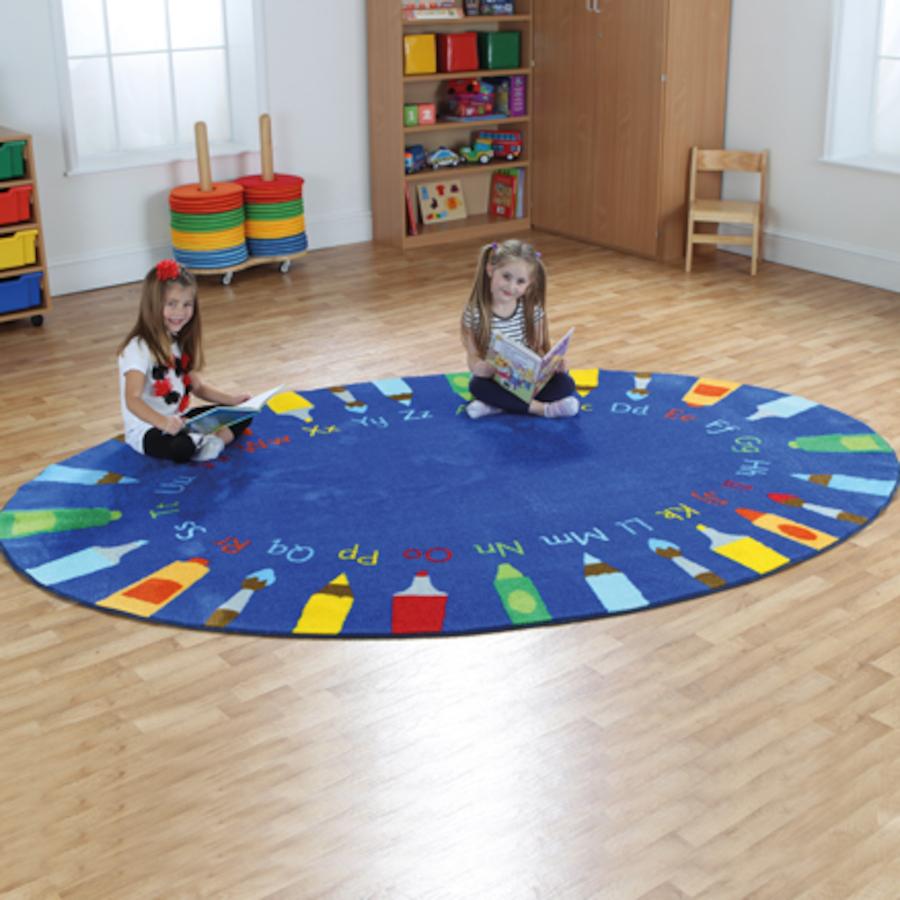 Buy Pencils Alphabet Floor Mat Tts